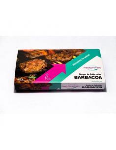 MEAT PROTEIN- BANDEJA DE 4 HAMBURGUESAS BARBACOA ( 400 g )