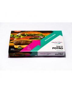 MEAT PROTEIN- BANDEJA DE 4 HAMBURGUESAS POTRO ( 400 g )