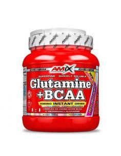 AMIX- GLUTAMINA + BCAA ( 300 g )