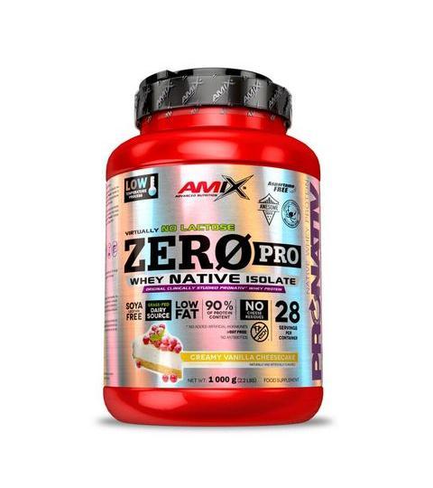 AMIX- ZEROPRO WHEY NATIVE ISOLATE  ( 1000 g )