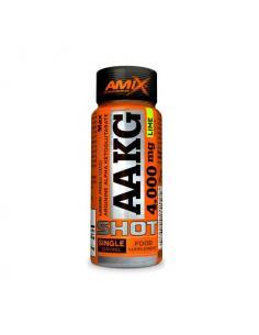 AMIX- AAKG SHOT LIMA VIAL SUELTO ( 4 g de arginina ) ( 60 ml )