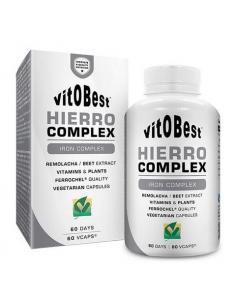 VITOBEST- HIERRO CÓMPLEX ( 60 Cápsulas )