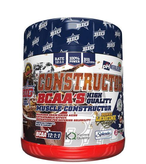 BIG NUTRITION- CONSTRUCTOR BCAA 12:1:1  ( 400 g ) 30 Dosis
