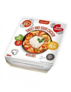 QUAMTRAX READY MEALS- SWEET AND SOUR CHICKEN WITH RICE ( 300 g )