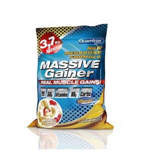 QUAMTRAX- MASSIVE GAINER ( 3700 g )