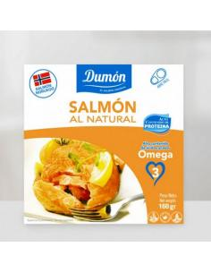 DUMON- FILETES DE SALMON EN SU JUGO ( 160 g )