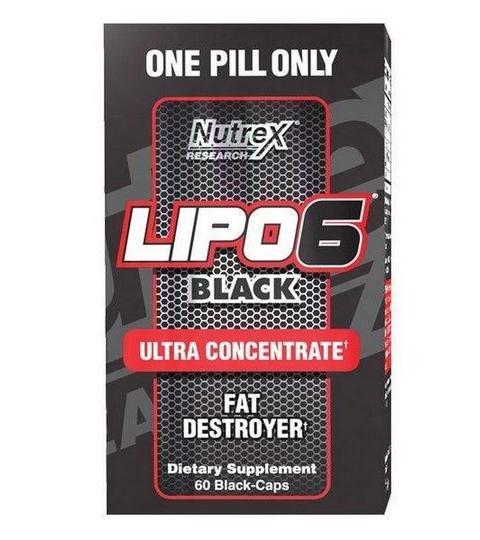 NUTREX- LIPO 6 BLACK ULTRA CONCENTRATE ( 60 Cápsulas )