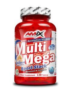 AMIX- MULTI MEGA STACK ( 120 Capsulas )
